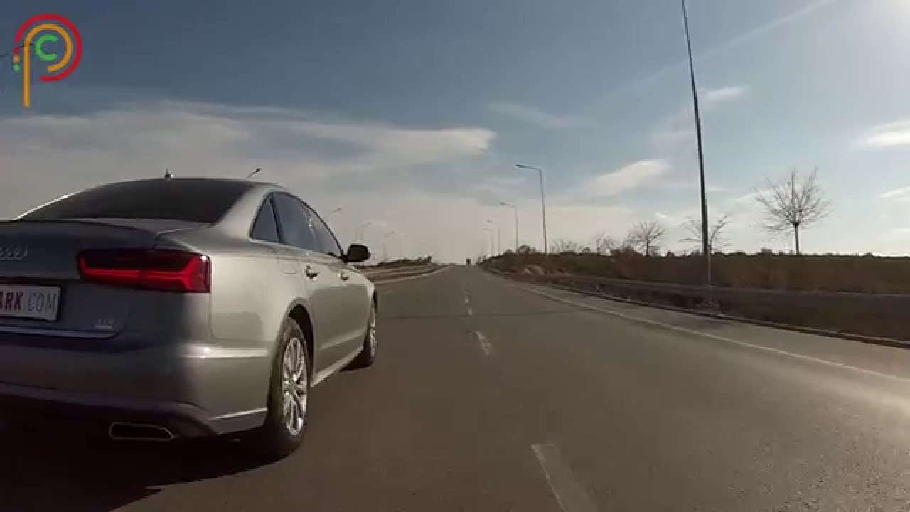 test | audi a6 - youtube
