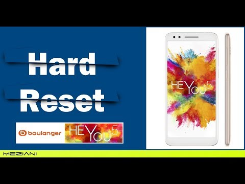 Hard Reset Essentielb HEYou 5 Alcatel 3L (5034D)  | Pattern Unlock | Factory Reset