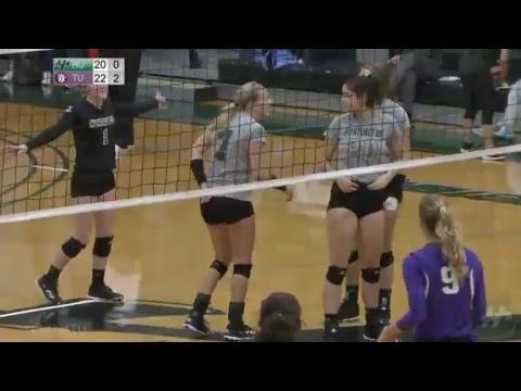 HU Women's Volleyball vs. Taylor University - 10.18.2017