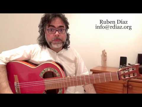 Learn Paco de Lucia´s O/s Picado Idea (Progressive Flamenco Guitar) Level 5 /Ruben Diaz/Malaga Spain