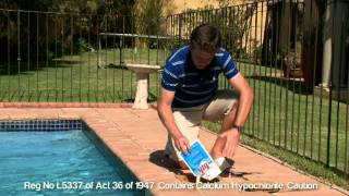 How to fix green pool water