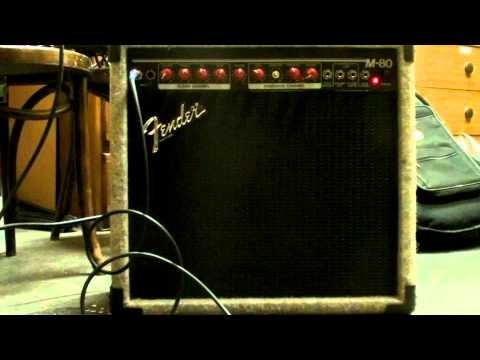 Fender M-80 Amplifier