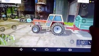 Farming simulator 2015 Gold edition on android(goclewer tablet)ep 1