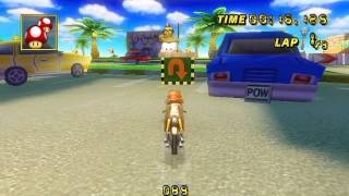 [Mario Kart Wii World Record] Coconut Mall - 00:34.274 - TakemiMall