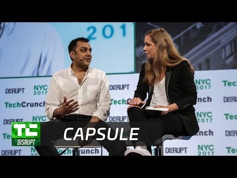 Capsule's Eric Kinariwala Is Reinventing the Pharmacy | Disrupt NY 2017