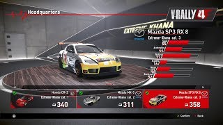 V-RALLY 4 - Cars Showroom Part 2 - Extreme-Khana