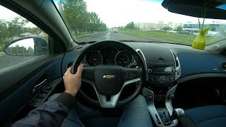 2013 Chevrolet Cruze Pov Test Drive