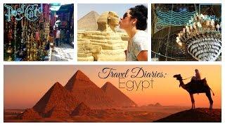 travel vlog   great pyramids of giza cairo citadel egypt
