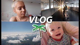 HOLIDAY VLOGS | flying to spain!