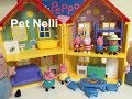 Peppa Pig Peppa' s Deluxe House Playset  Toy Review