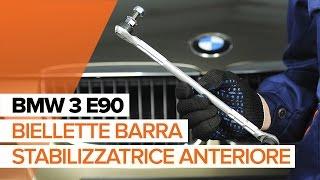 Installazione Asta puntone stabilizzatore posteriore e anteriore BMW 3 SERIES: manuale video