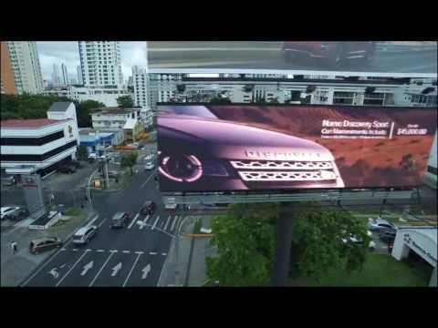 SMD waterproof video led billboard  advertising display in panama