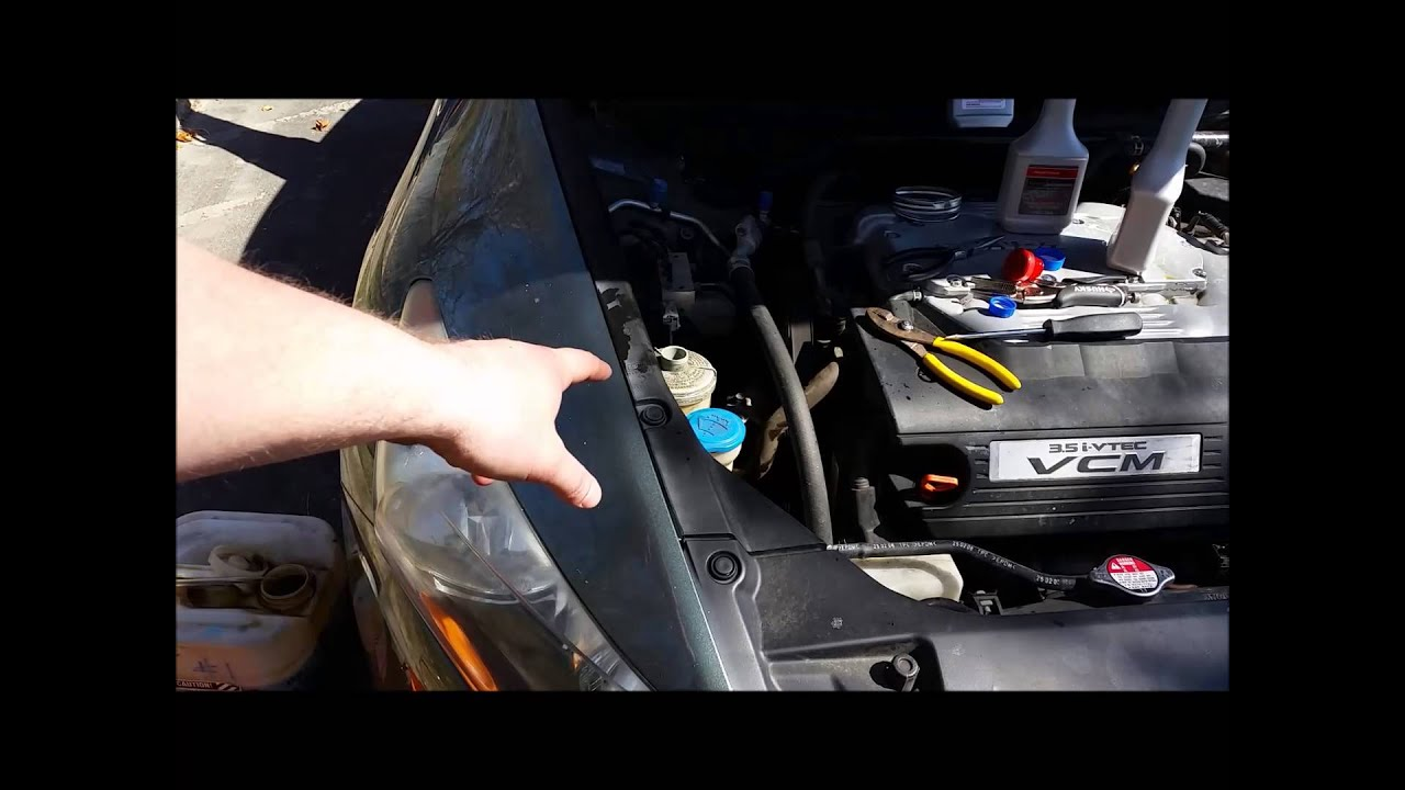 2008 8th Gen Honda Accord Diy How To Change Flush Your