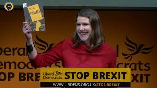 Bollocks to Brexit: Jo Swinson