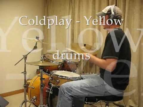 Coldplay - Yellow: Drum Cover for Students