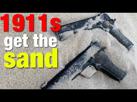 Will a Rock Island Armory 1911 work straight out of sand? Yes...