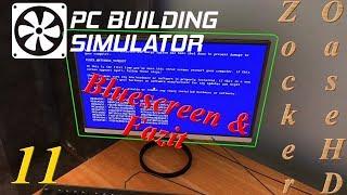 PC Werkstatt Simulator # 11 : Bluescreen & Fazit - PC Building Simulator Gameplay