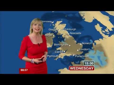 Carol Kirkwood BBC Breakfast Weather 01-05-2012