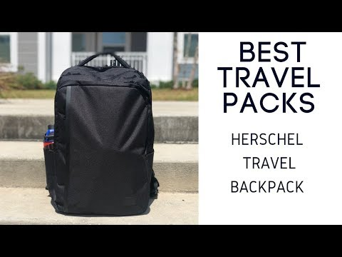 Herschel Travel Backpack Review - Stylish and Minimal 30L Travel Bag