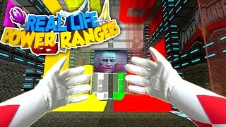 Realistic Minecraft - THE RED POWER RANGER!!