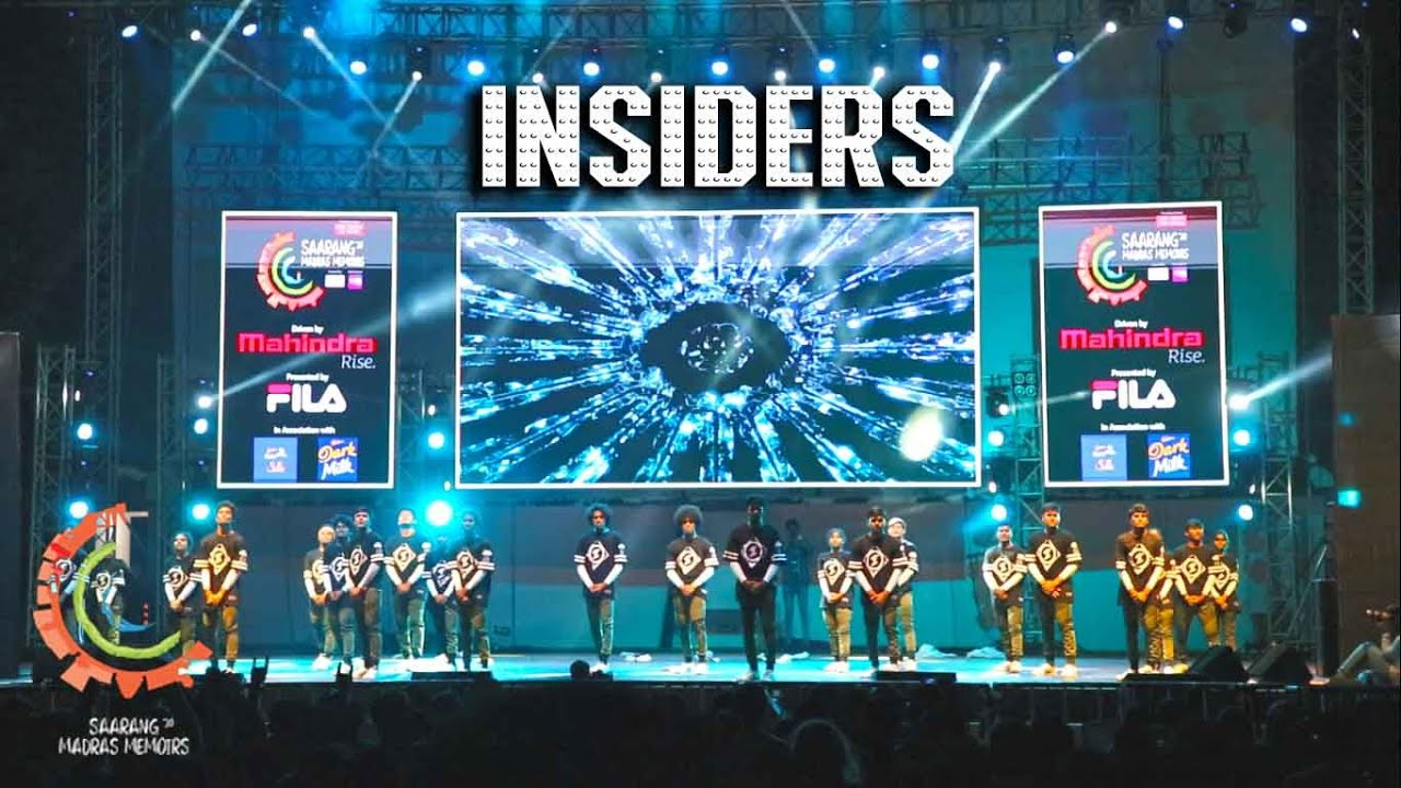 Insiders Crew [ First Runners Up - Non Theme ] | Choreonite | Saarang 2020 | Insiders Choreography