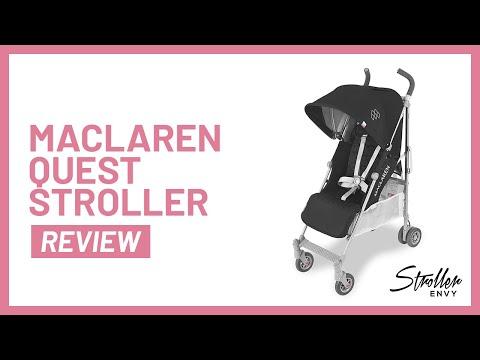 Stroller-Envy Maclaren Quest Stroller Review