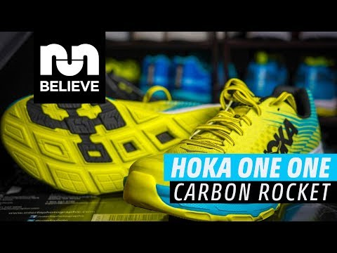 40b452d559f76 HOKA ONE ONE Carbon Rocket Video Performance Review - YouTube