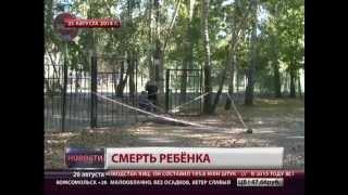 Погиб ребенок. Новости. GuberniaTV(Возбуждено уголовное дело по факту смерти восьмилетней девочки, на которую упали металлические ворота..., 2014-08-26T08:33:09.000Z)