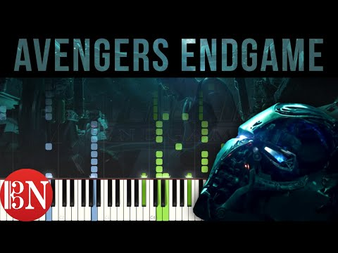 Avengers: Endgame - Trailer Theme | Piano Tutorial / Sheet Music / MIDI thumbnail