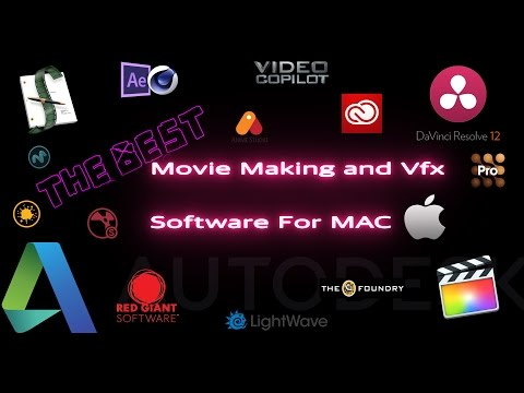 Best Movie Making and Vfx Software For MAC 2016