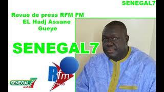 Revue de presse Rfm du 30 Avril par El Hadji Assane Gueye