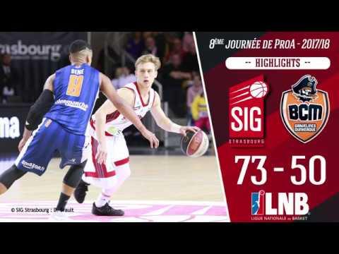 SIG Strasbourg-BCM Gravelines : Highlights et réactions de Ludovic Beyhurst