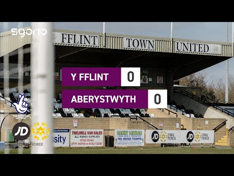 Flint Aberystwyth Goals And Highlights
