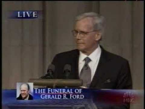 Gerald R. Ford Funeral - Tom Brokaw Speech