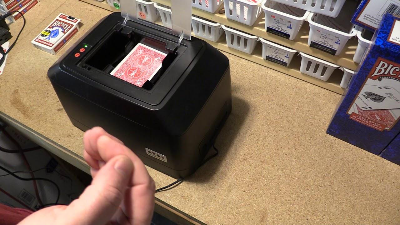 ST3 Fully Automatic Shuffler / Professional - Card Shuffler by Shuffle  Tech