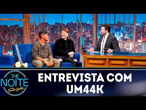 Entrevista com Um44K  The Noite 030519