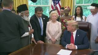 Shakoor Bhai meeting with President Trump