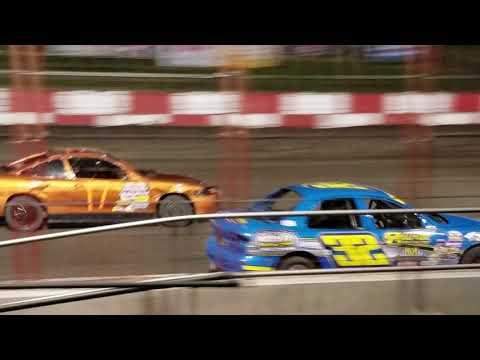 Dustin Virkus @ Madison Speedway- Feature 9.29.17