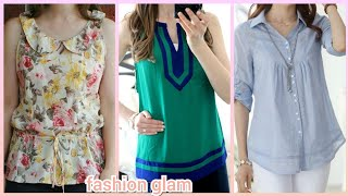 latest casual summer top and blouse styles for women&#39s 2019