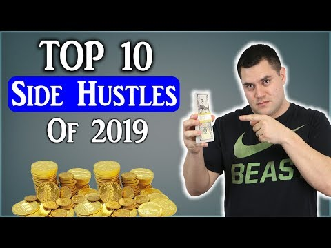 10 UNIQUE Side Hustles To Make Money From Home (2019)