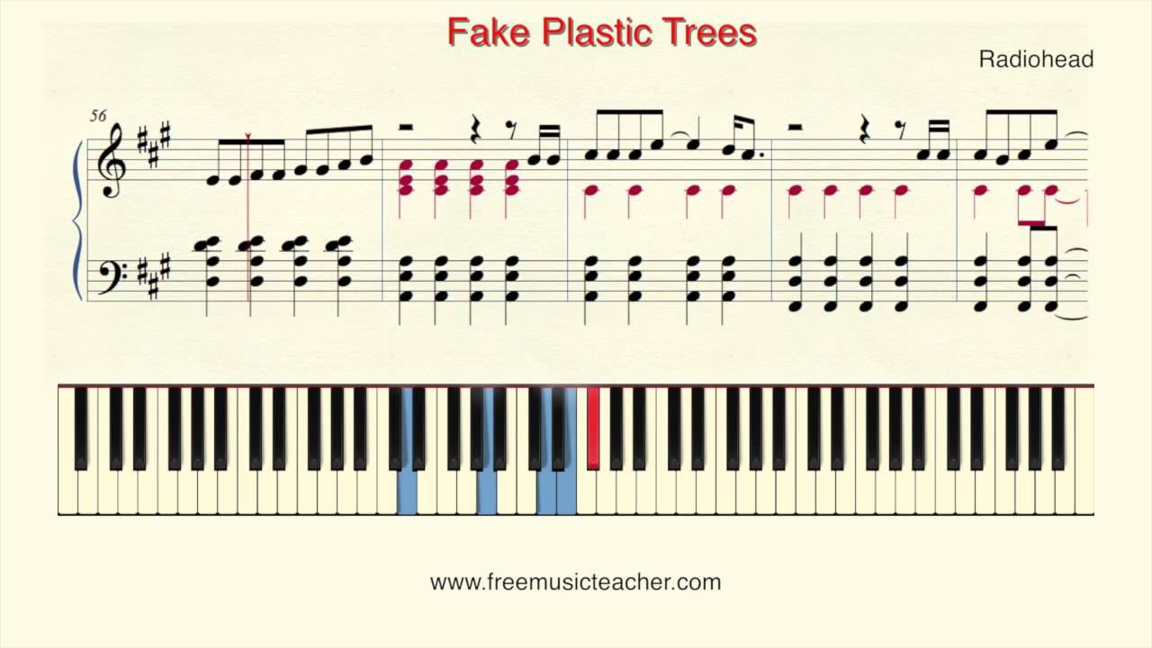 How to play piano radiohead fake plastic trees piano tutorial how to play piano radiohead fake plastic trees piano tutorial by ramin yousefi hexwebz Images