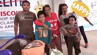 Trip from USA to PHILIPPINES January 2017!  Best ORIGINAL Siomai Sa Tisa! Uwian na!