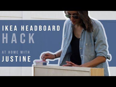 ikea-hack-|-diy-headboard