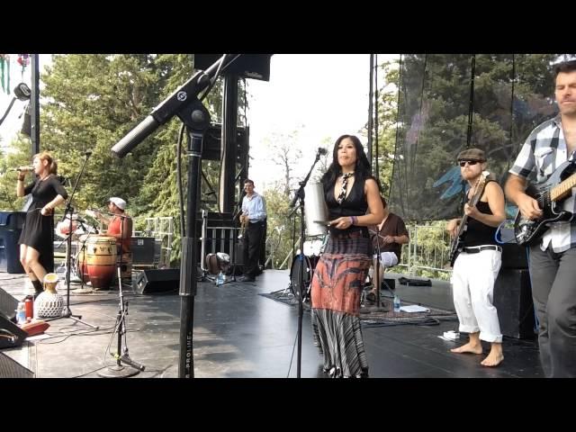 """Cumbita Mama"" LoCura at Sweet Pea Festival Bozeman 2014"