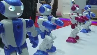 Robots gather for the World Conference in Beijing