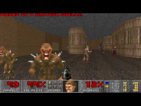 Doom II Hell on Earth Map10 Pacifist in 27s by dew