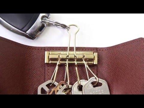 Louis Vuitton Key Holder Hack