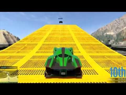 GTA 5 Online Stunt Races