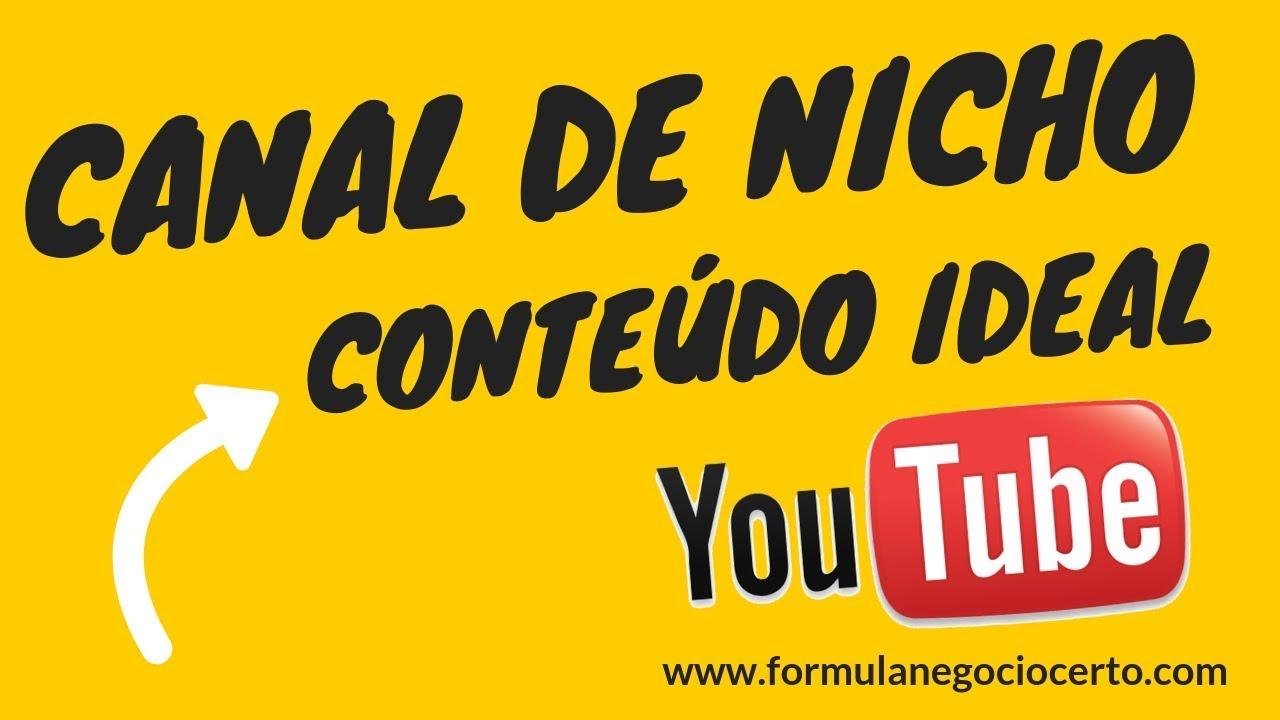 GANHAR DINHEIRO NO YOUTUBE ❌ Como criar conteúdo para canais de nicho ❌ como Descobrir o AVATAR