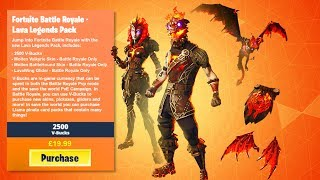 "NEW ""LAVA LEGENDS PACK"" LEAKED! FORTNITE MOLTEN SKIN BUNDLE RELEASE DATE! MOLTEN LAVA LEGENDS SKINS!"